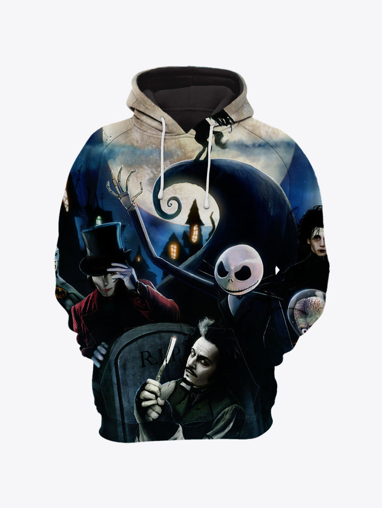 Nightmare Before Christmas NBC 3D Hoodies Sweatshirts T-Shirt 35 ...