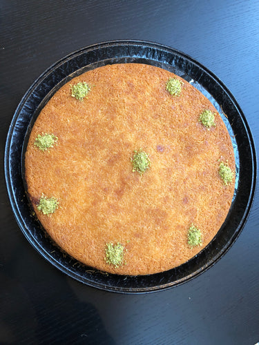 Traditional Cream Knafeh