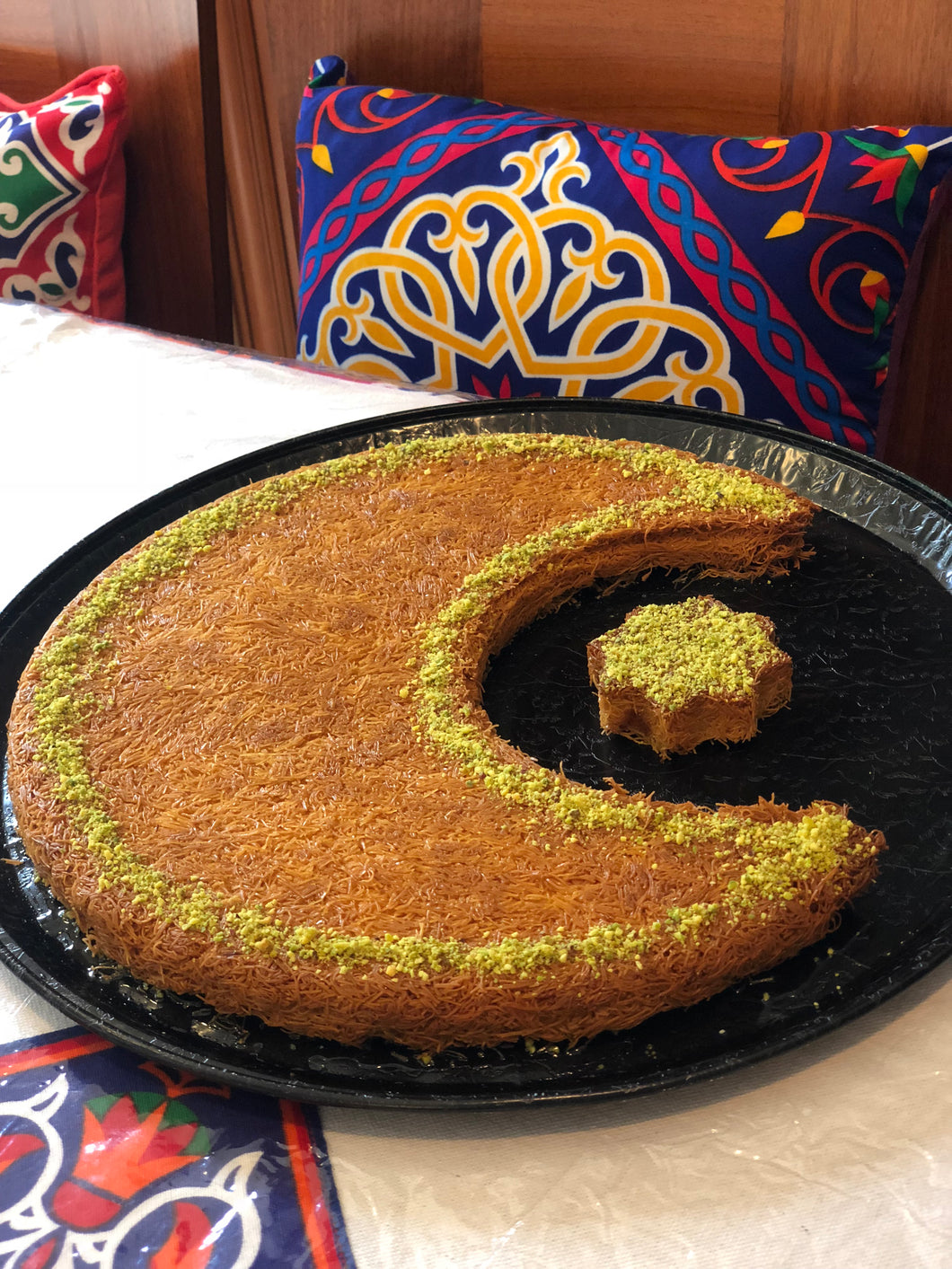 Crescent & Star knafeh