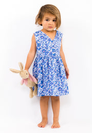 Liberty of London Girls Dress Blue Betsy