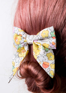 Liberty Print Sailor Bow - Misti Valeria