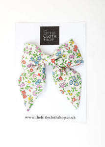 Liberty Print Sailor Bow - Felicite Pink