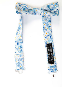 Boys Liberty Print Bow Tie