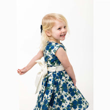 Load image into Gallery viewer,  blue flower girl dress