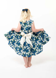 big bow sash dress girls
