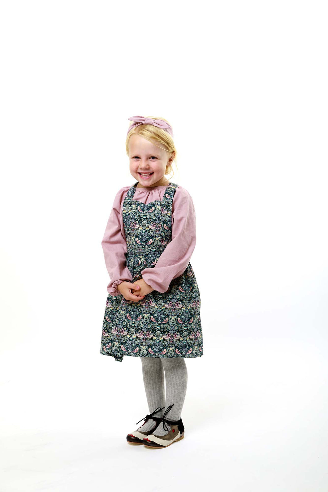 Liberty Print Girls Pinafore