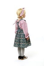 "Load image into Gallery viewer, Liberty Print Girls Pinafore ""Isabel"""