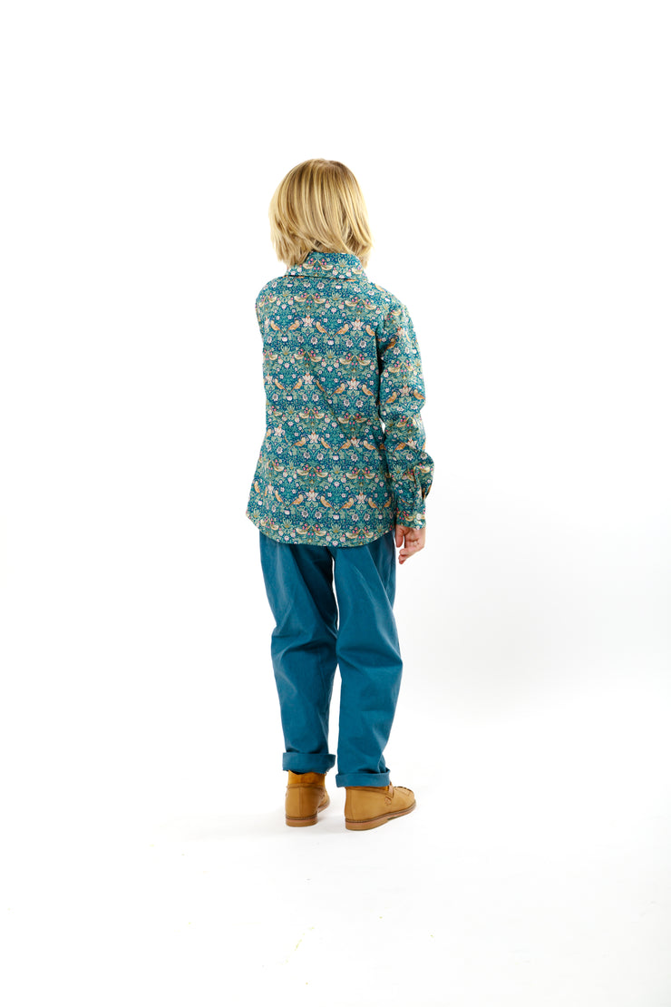 Classic Boys Liberty Print Shirt