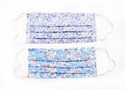 Face mask made with Liberty Print Lawn - Pack of two - Lucky Dip Blues