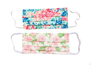 Face mask made with Liberty Print Lawn - Pack of two - Lucky Dip Pinks