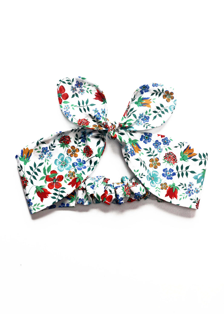 Ladies Liberty Print  Top Knot Head band