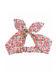 Liberty Print Girls Top Knot Hair Band