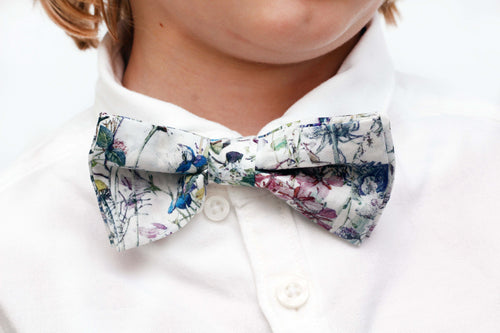 Boys Liberty Print Bow Tie - Wild Flowers