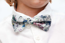 Daddy and Me Liberty Print Bow Tie - Red Felicite