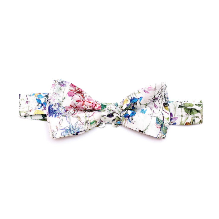 Mens Liberty Print Bow Tie - Blue Felicite