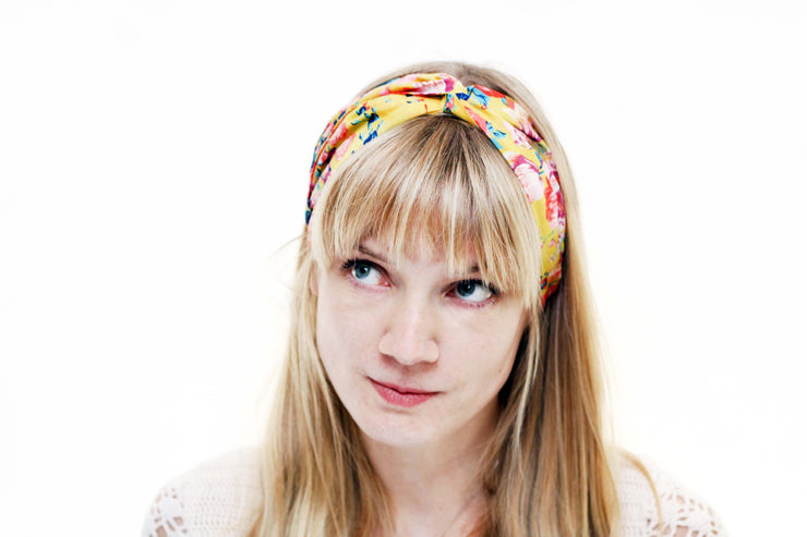 ladies turban twist head band