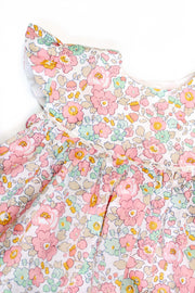 "Liberty Print Baby Frill Dress - ""Sue"""