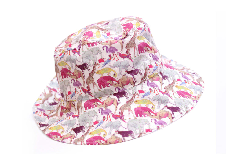 Liberty Print Toddler Sun Hat - Choose your print