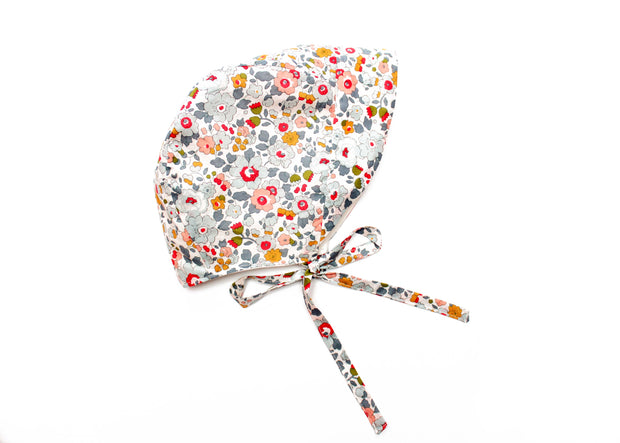 Liberty Print Peaked Toddler Bonnet