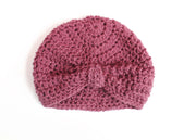 heather baby turban
