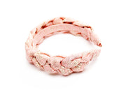 Braided padded Alice Band made in Liberty Print Fabric