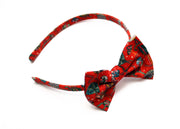 Christmas Liberty Print Alice Band