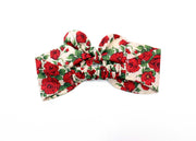 Girls Liberty Print Top Knot Headband - Wild Flowers