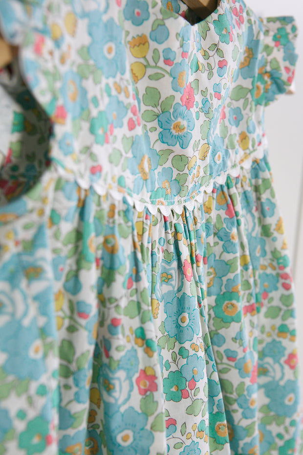 "Baby frill Liberty Print Dress - ""Sue"""