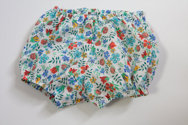 Liberty Baby Bloomer - Strawberry Thief Blue