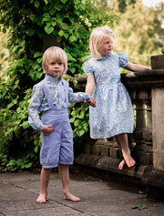 girls and boys liberty print outfits