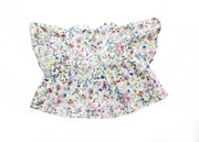 "Girls Frill Blouse made with Liberty Print Fabric- ""Michelle"""