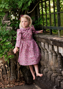 Liberty of London girls long sleeve dress