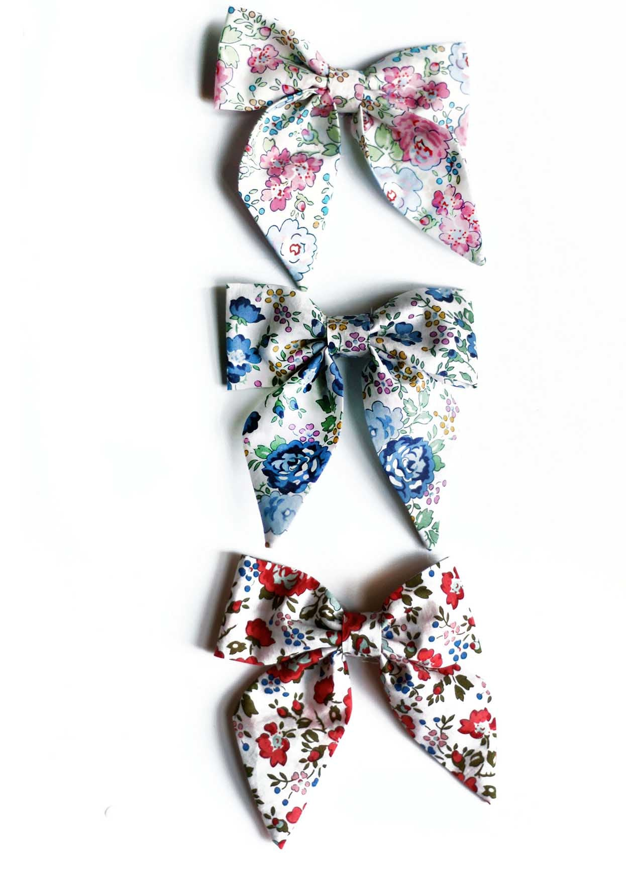 Liberty Print Sailor Bow - Capel