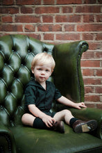 Load image into Gallery viewer, gothic black baby clothes sailor suit