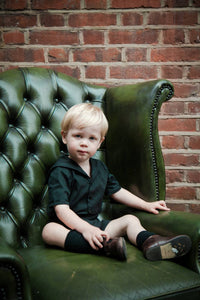 gothic black baby clothes sailor suit