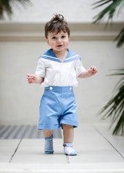 UK boys christening sailor suit prince george