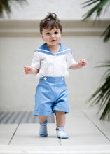 Load image into Gallery viewer, UK boys christening sailor suit prince george
