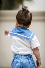 Load image into Gallery viewer, baby sailor suit