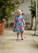 "Load image into Gallery viewer, Liberty Print Girls Party Dress - ""Mary Jean"""