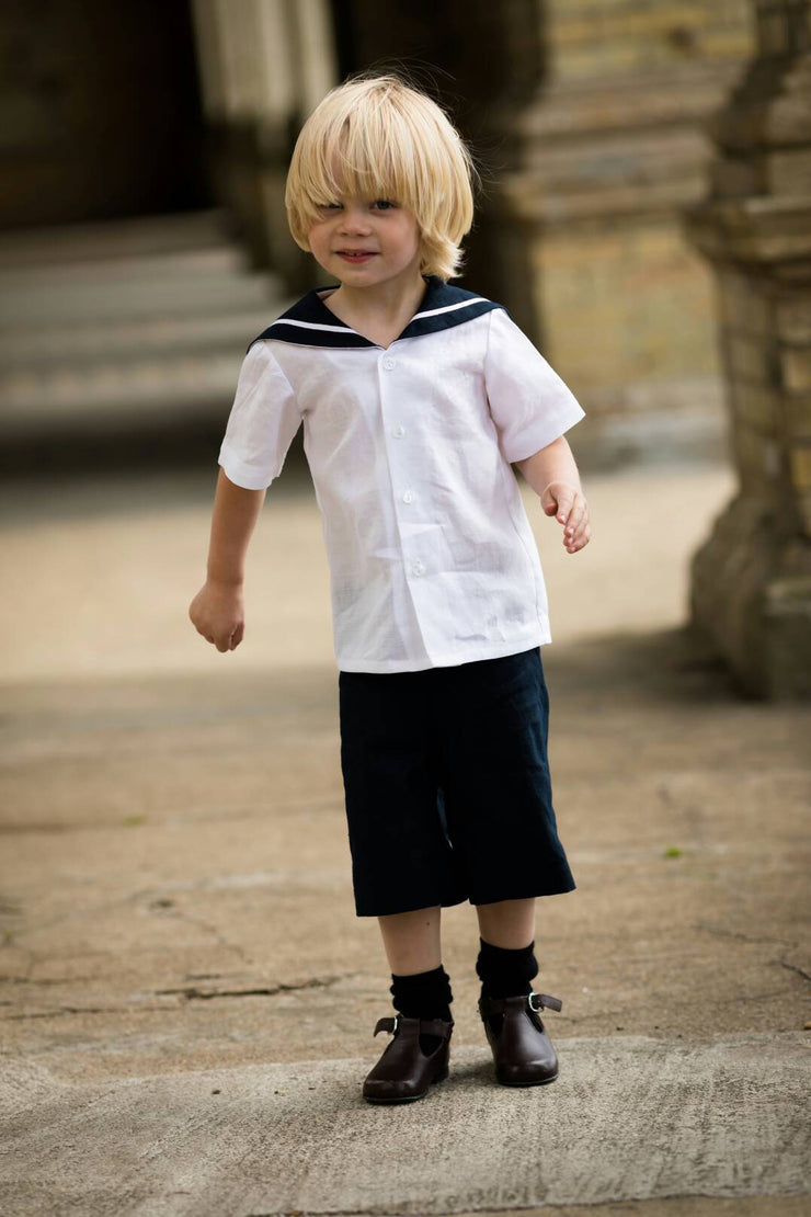 toddler sailor suit romper uk