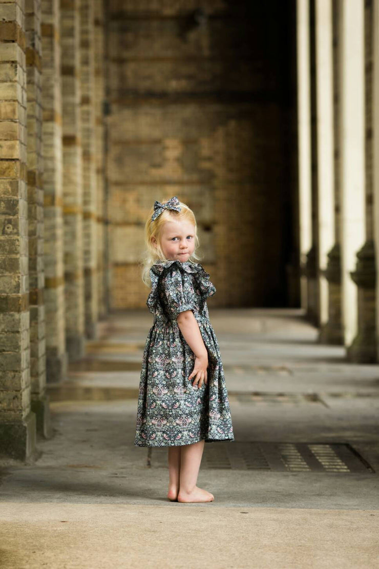 liberty flower girl dress