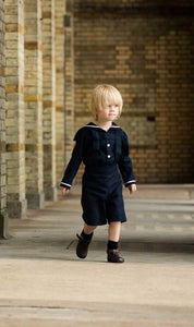 sailor navy suit toddler baby