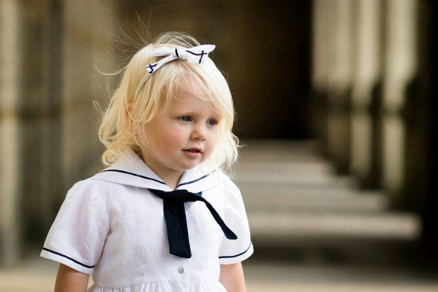 vintage toddler girls sailor dress