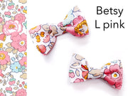 Liberty Print Mini Bows - Set of Two