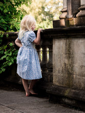 Load image into Gallery viewer, light blue girls dress