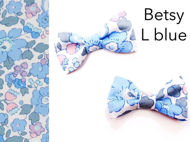Mini Liberty Print Bow set of two - Edenham