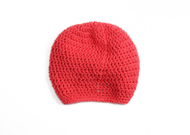 Merino Wool Baby Turban Bonnet