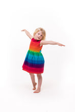 Girls Rainbow Dress