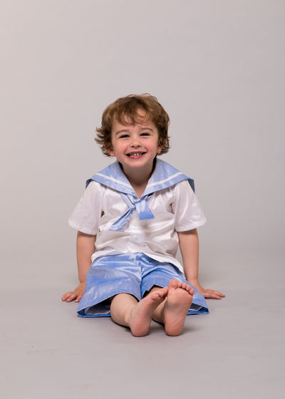 silk sailor suit page boy uk