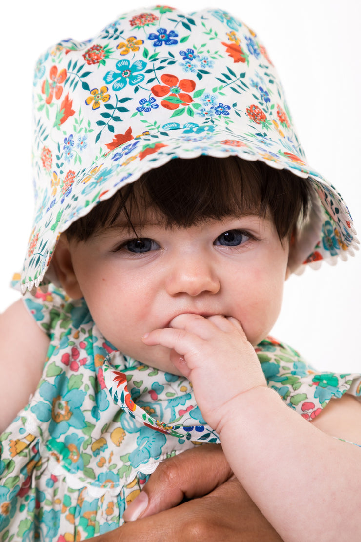 liberty baby bonnet uk baby hat girls